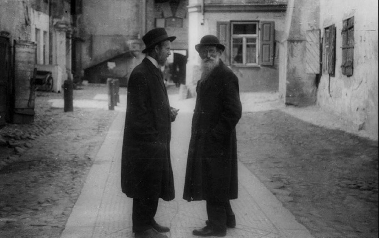 1925. В одном из дворов Еврейского квартала