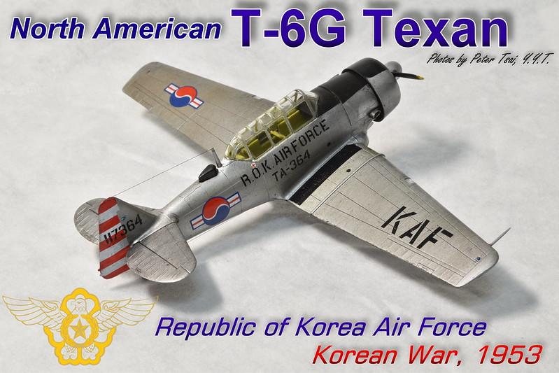 1/72 T-6G Texan ROKAF
