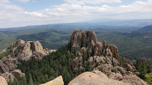devils head lookout tower fire view rocks boulders nature outdoors hike sedalia colorado