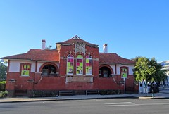 Maryborough. The front of the 1899 built Customs House. The first Customs House was built in Wharf St in 1861. This is now a museum on immigration and the port of Maryborough.