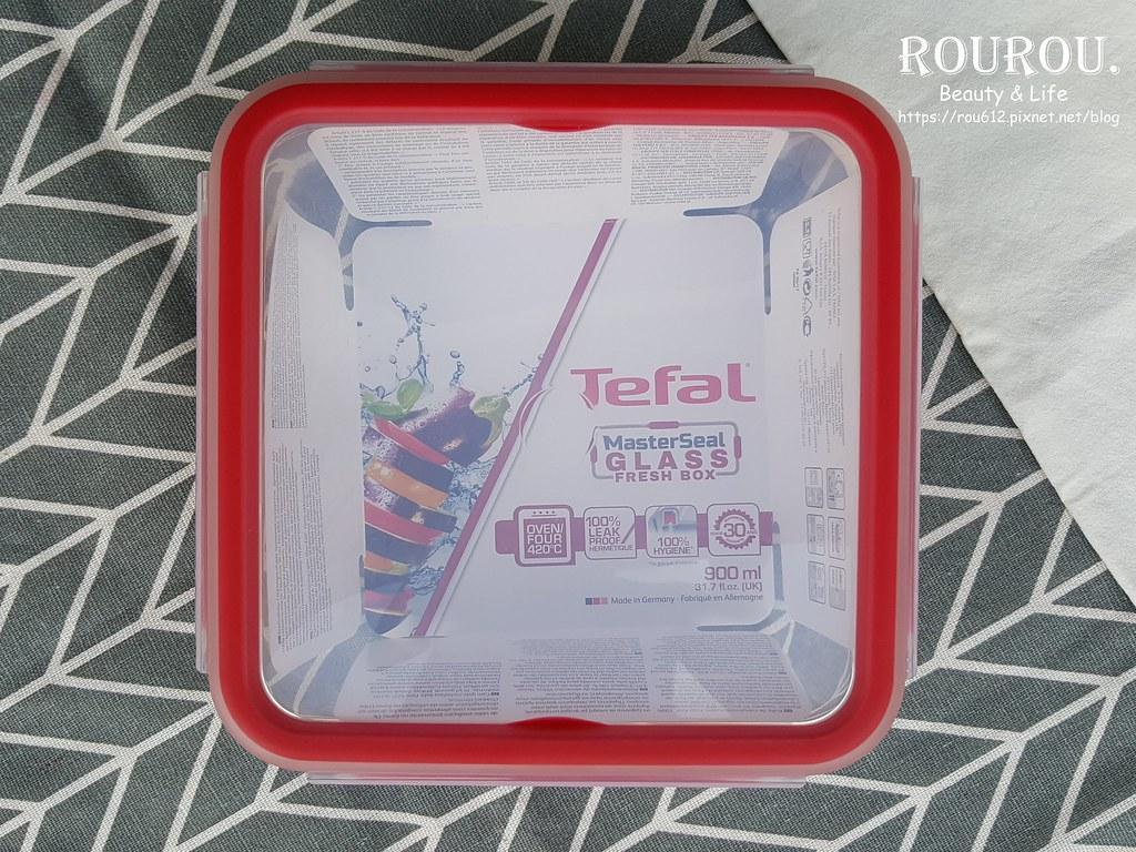 Tefal法國特福 無縫膠圈耐熱玻璃保鮮盒1