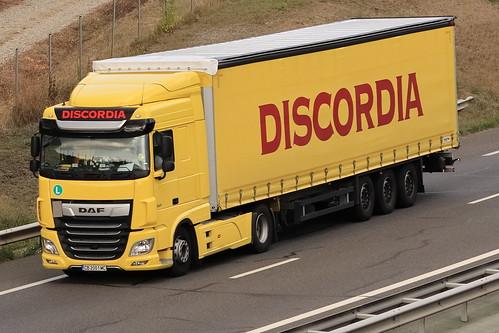 DAF XF - Discordia - BG