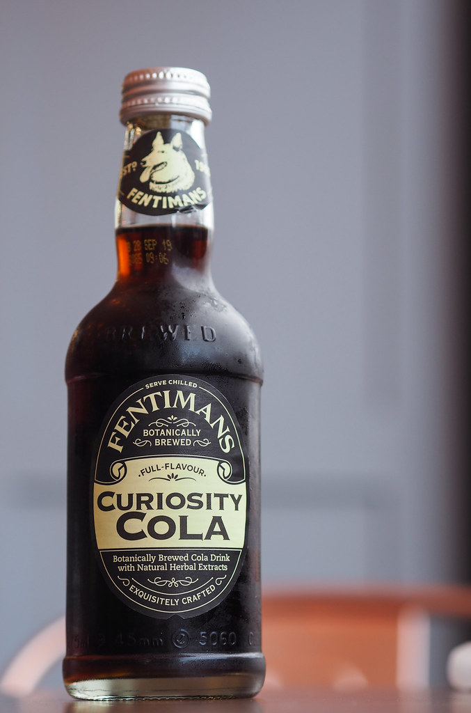 Burger Bhais Fentimans Curiosity Cola