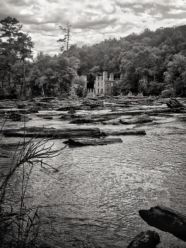 Old Mill Ruins at Sweetwater Creek State Park