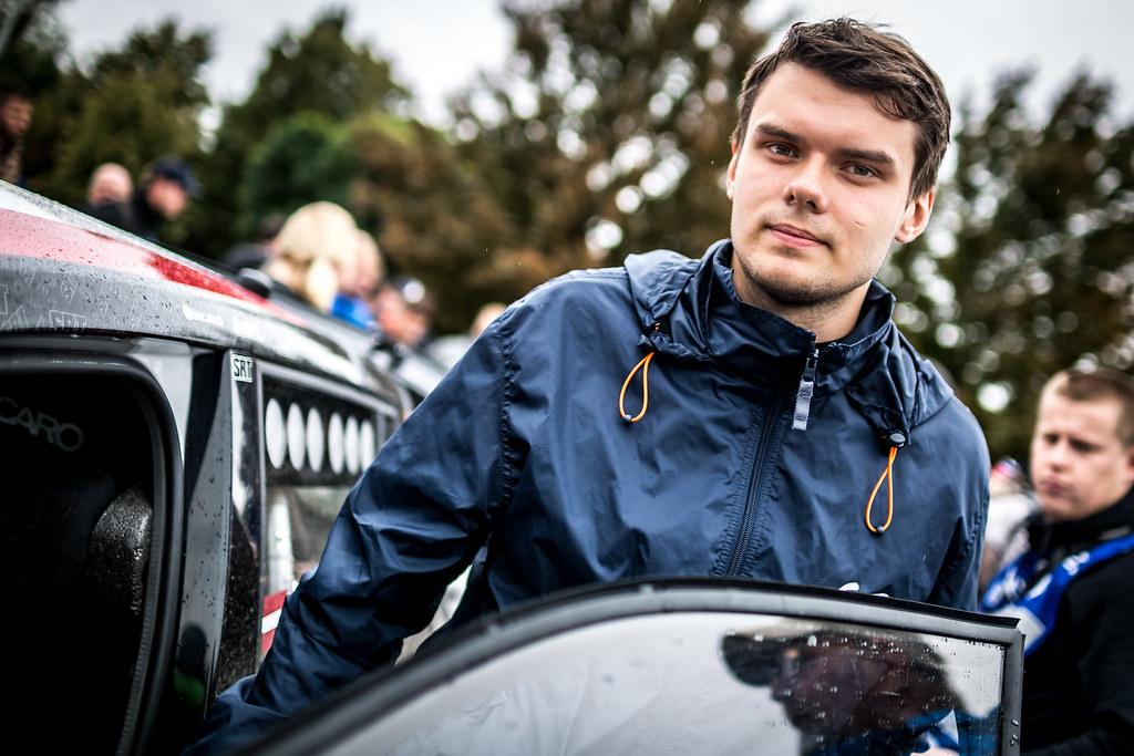 Gryazin Nikolay, LVA, Sports Racing Technologies, Skoda Fabia R5, Portrait during the 2018 European Rally Championship ERC Barum rally,  from August 24 to 26, at Zlin, Czech Republic - Photo Thomas Fenetre / DPPI