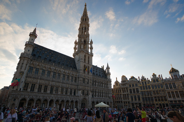 Grand Place, Brussels, Aug 18