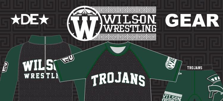 Wilson Trojans Wrestling Gear