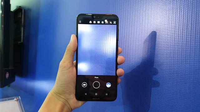 tampilan antarmuka kamera Nokia 6.1 Plus (Liputan6.com/ Agustin Setyo W)