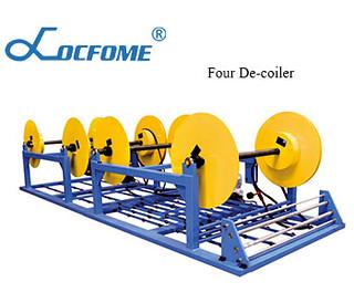 Four De-coiler