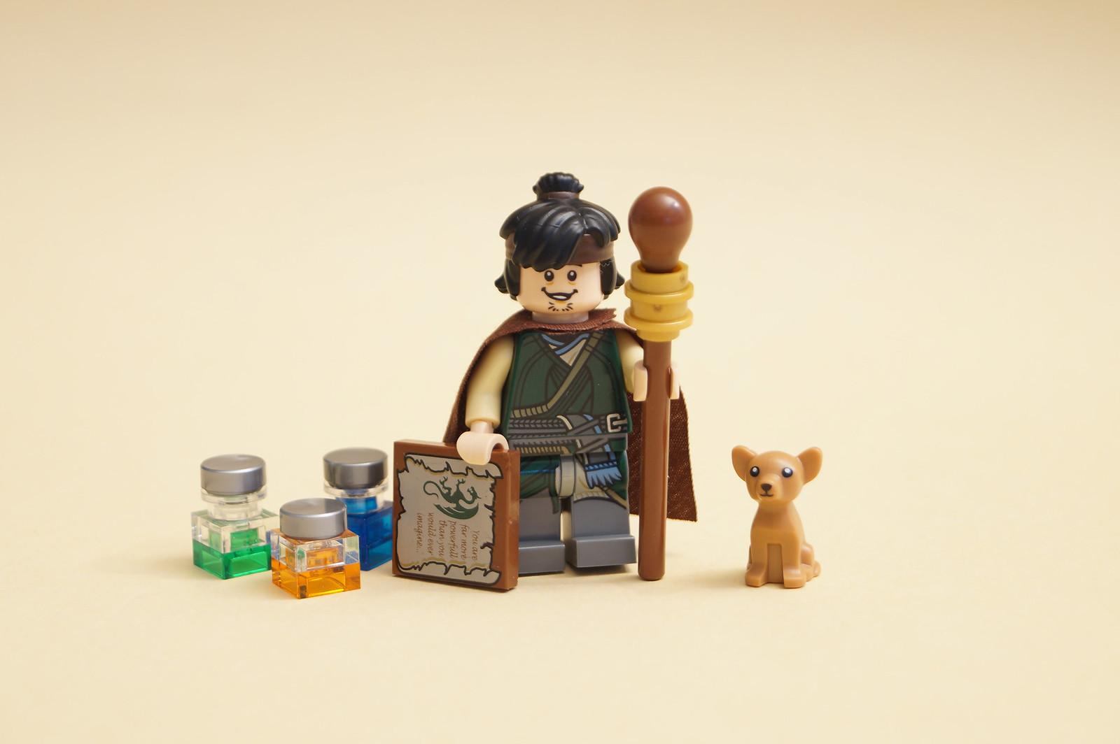 lego minifigure custom