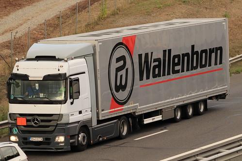 Mercedes Actros - Wallenborn  - RO