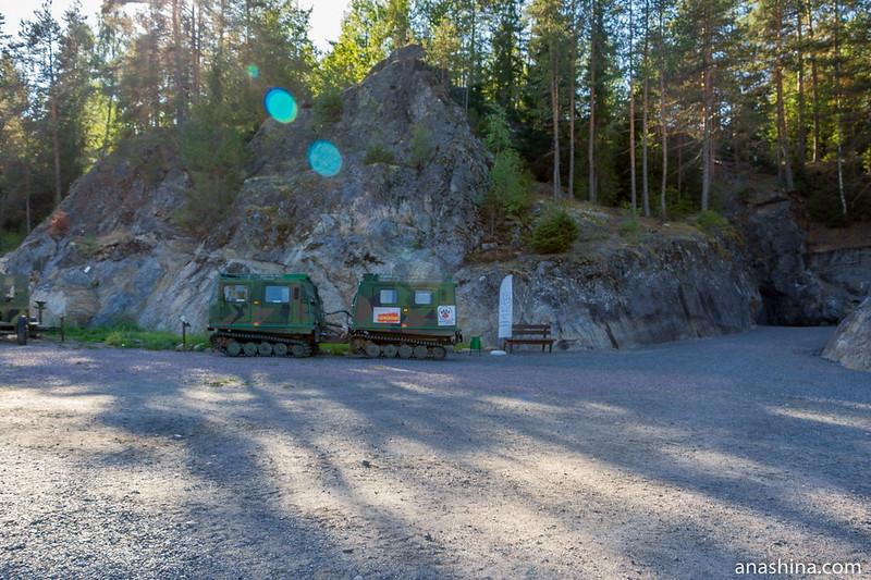 Гора Филина, Хуухканмяки, Карелия