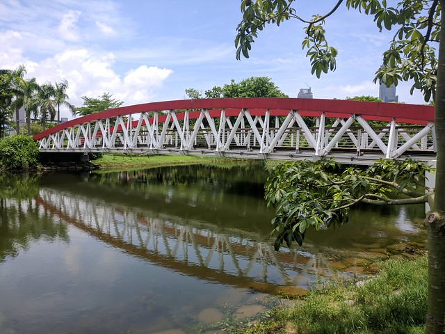 Footbridge at Central Park, Kaohsiung