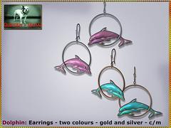 Bliensen - Dolphin - Earrings