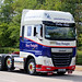 BT14BFT 2014 DAF XF operated by Bay Freight.