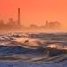 Surfing at sunset - Tel-Aviv beach - Follow me on Instagram:  @lior_leibler22 by Lior. L