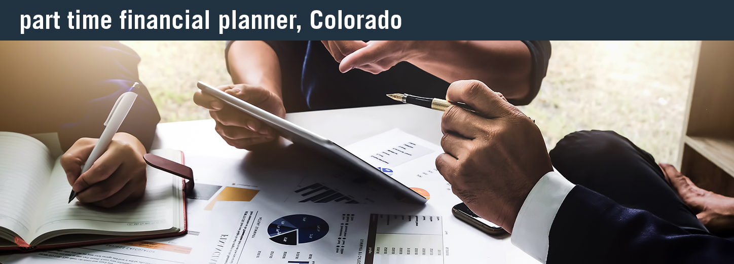 part time financial planner colorado