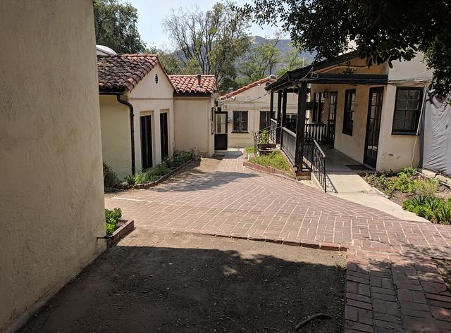 Interior paths near the Willows Cottage, Rockhaven Sanitarium