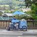 Ice Cream Trike, Grand Parade, Bath 5 September 2018