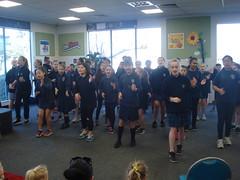 Shirley Primary School Kapa Haka Group performs