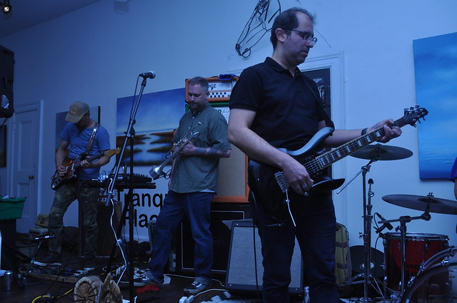 The Band Whose Name Is A Symbol at Orange Art Gallery