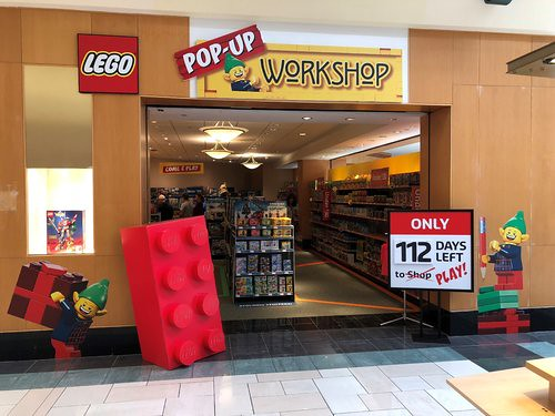 Pop-Up LEGO Brand Store