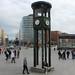 """Berlin : l'horloge de la """"Potsdamerplatz"""""""