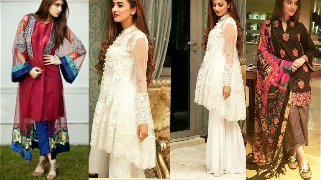 Dds work new party dress design 2019 in pakistan will francais