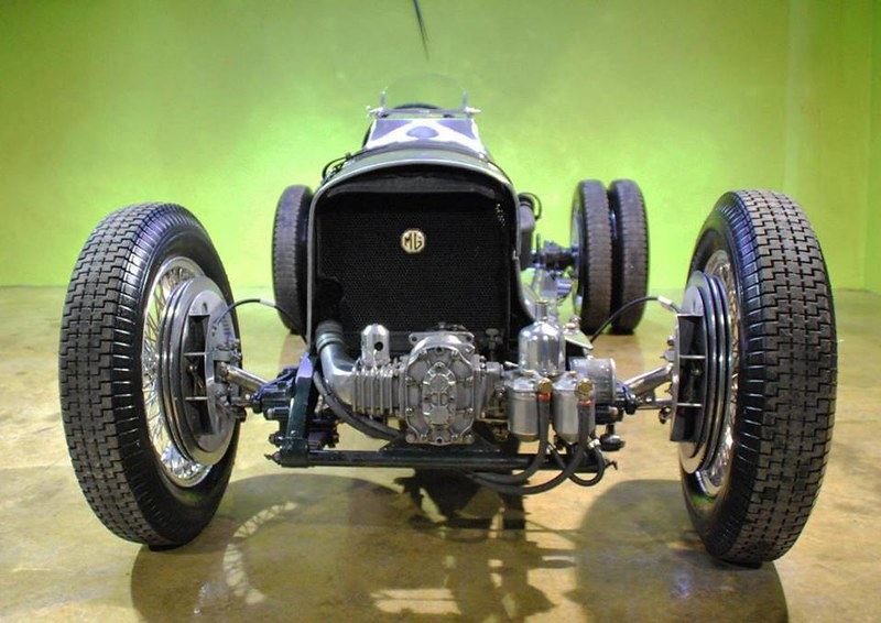 1935. MG Magnette Special Monoposto