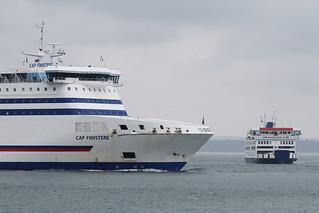 Cap Finistere & St Cecilia, Portsmouth, April 13th 2018