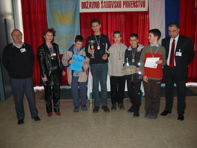 Fantje 3. mesto (1. OŠ Slovenj Gradec)