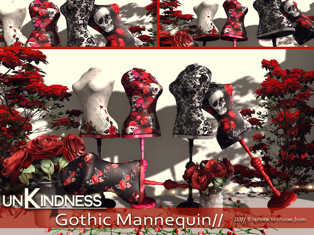 uK - Gothic Mannequins - TFC - TeleportHub.com Live!