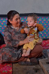Wakhi Grand-Mother and her grand son in Chapursan valley 06/08/2018 :copyright: Bernard Grua