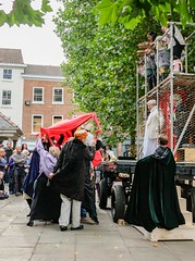 YMPST waggon play performance, St Sampson's Square, 16 September 2018 - 02