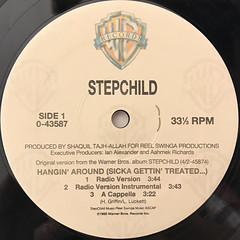 STEPCHILD:HANGIN' AROUND(SICKA GETTIN' TREATED...)(LABEL SIDE-A)