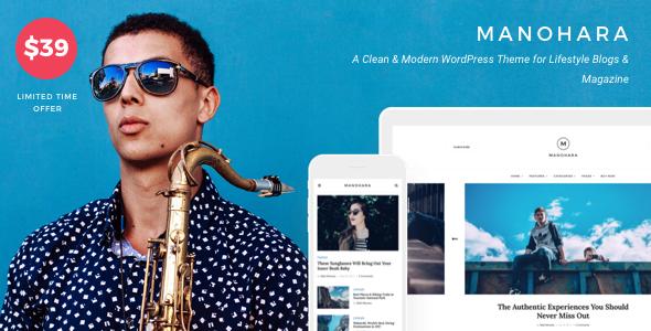 Manohara v1.2.0 – Modern Lifestyle Blog & Magazine Theme