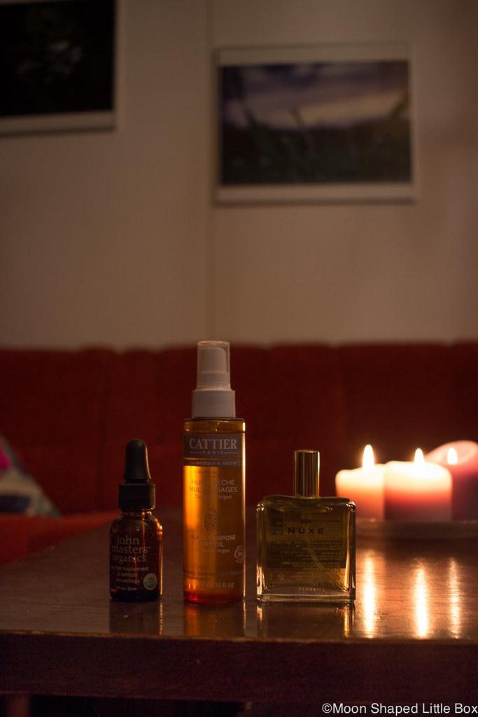 Cattier Paris kuivaöljy, hiusöljy, kokemuksia, öljy hiuksille, hiuksille, vartalolle ja kasvoille, hyväntuoksuinen öljy, luonnonkosmetiikka, nopeasti imeytyvä vartaloöljy