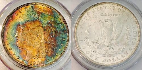 1903 Morgan PCGS MS64 Toned