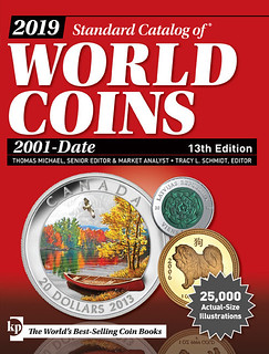 2019 Standard Catalog of World Coins 3001-Date 14th ed cover