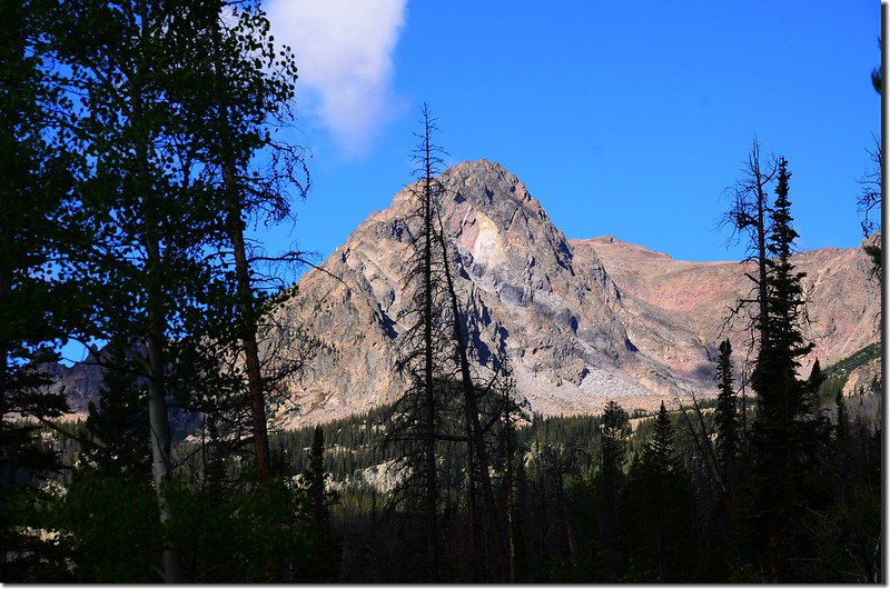 East Thorn from Willow Lakes Trail