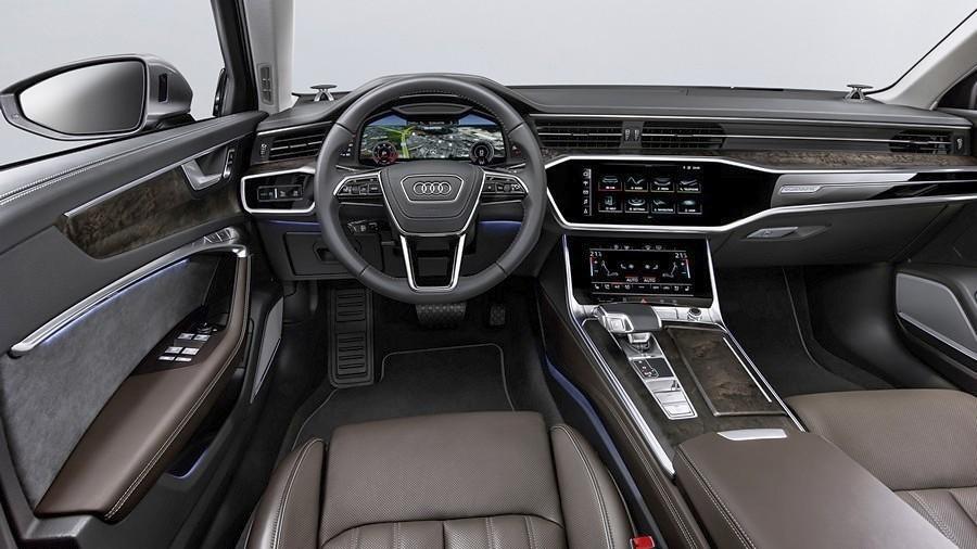 Audi A6 enterier