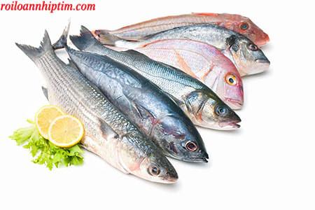 Cá giàu omega 3 giúp điều hòa hệ thần kinh tim