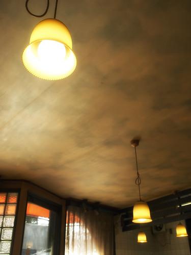 住吉・喫茶タンポポ_青空の天井