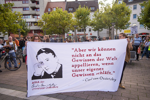 Demonstration in Oldenburg