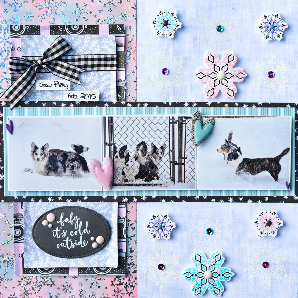 Baby_It's_Cold_Scrapbook_Layout_ThermOWeb_DecoFoil_Katrina_Hunt_1000-2