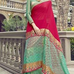 www.kollybollyethnics.com/party-wear-green-colored-embroidered-net-georgette-saree-96079