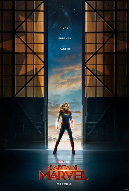 Captain Marvel To The Rescue With First Trailer & Poster