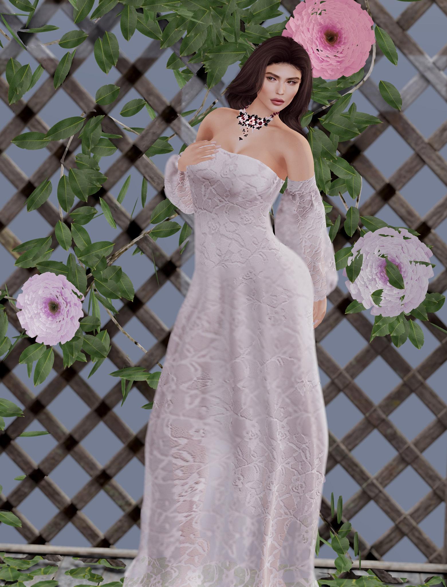 Danielle gown, Azul