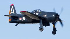 Grumman F8F Bearcat NX800H Heritage Flight Museum