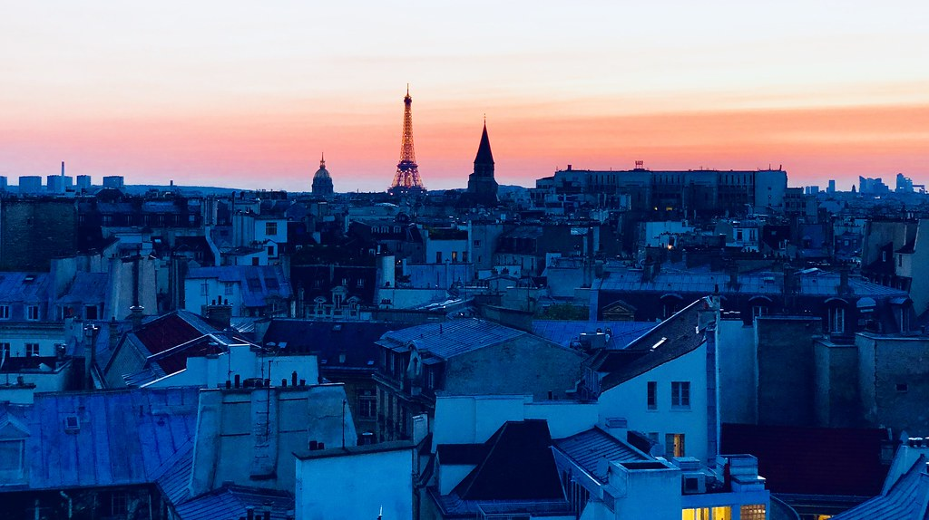 Image result for rooftop paris